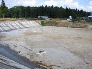 Строительство канализационных очистных сооружений