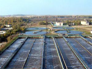 Городские очистные сооружения сточных вод