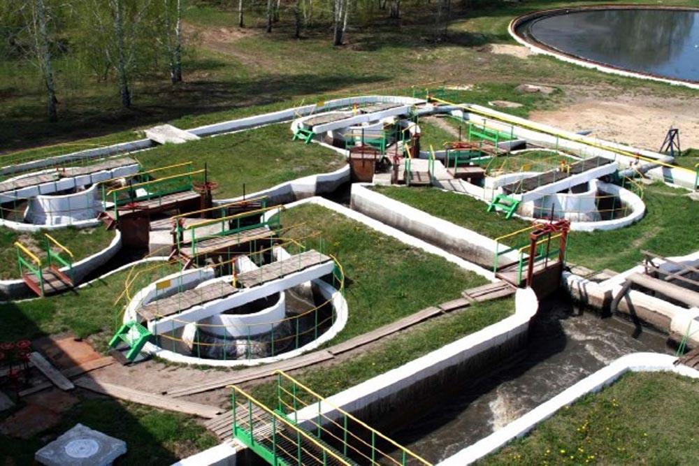 Городские очистные сооружения канализации