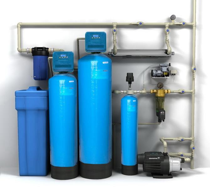 Водоподготовка питьевой и оборотной воды