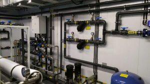 Станция водоподготовки питьевой воды БОВ50