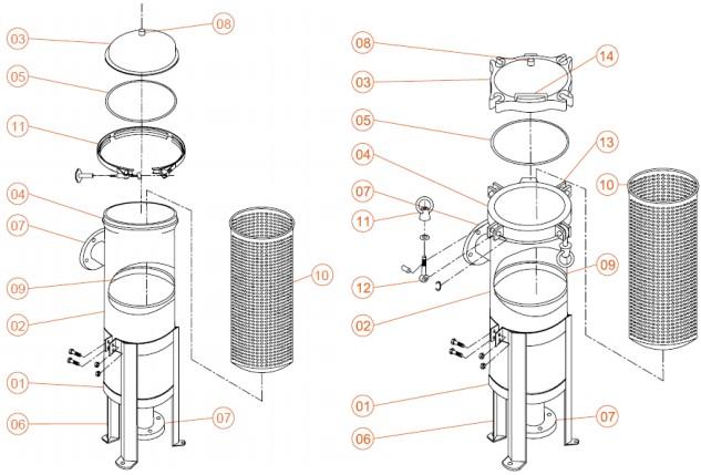 Мембранные фильтры