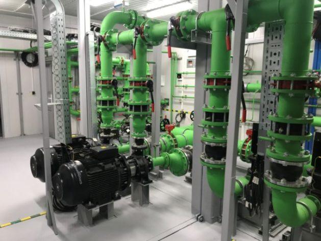 Водопроводные насосные станции противопожарного и хозяйственно-питьевого водоснабжения