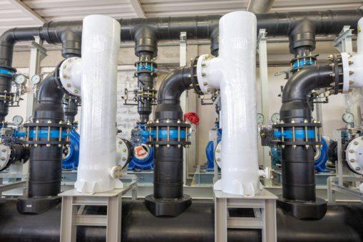 очистка воды на предприятиях